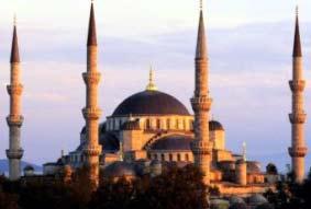 Голубая Мечеть – строение 17-ого века